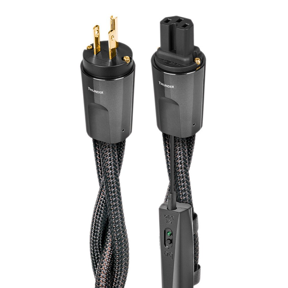 AudioQuest Thunder High Current 15 Amp Power Cable 2.0m