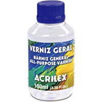 Verniz Geral, Acrilex, Incolor, 100 ml