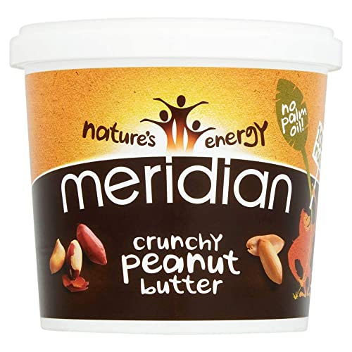 Meridian Natural Crunchy Peanut Butter With No Added Salt, 1Kg