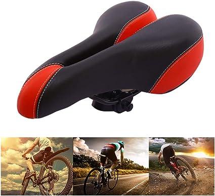 Vélo Gym Confort Gel Siège Selle Coussin Pour Vélo Gym Spin-Orange