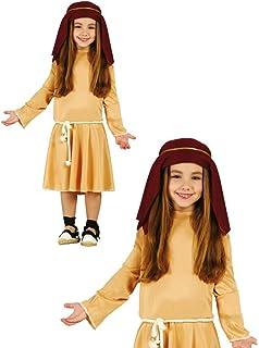 Disfraz de Pastora de Belén para niña: Amazon.es: Juguetes y ...