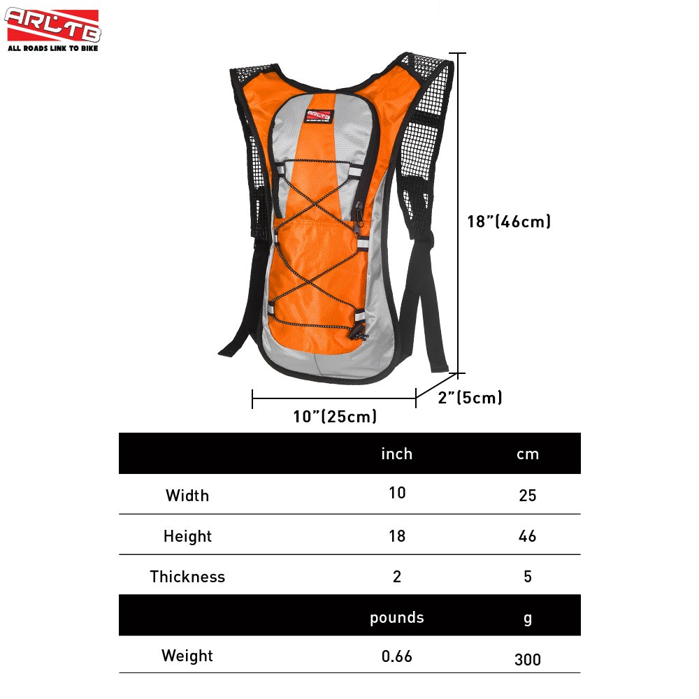 348ede2fa0 5 Colors No Hydration Bladder 70 oz Hydration Backpack Running Backpack  Cycling Backpack Waterproof Backpack Tactical ...