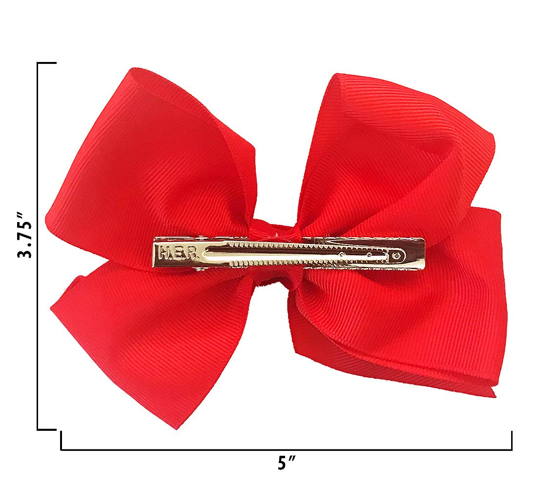 Warp Gadgets Bundle - JoJoSiwa Beauty Cosmetic Set and White, Black and Red Basic Bows on Metal Salon Clip (4 Items) by Warp Gadgets (Image #8)