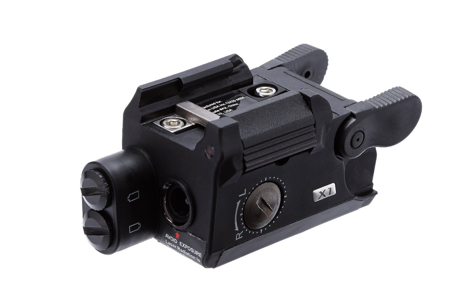 Beamshot X1-G Green Laser Sight, Black