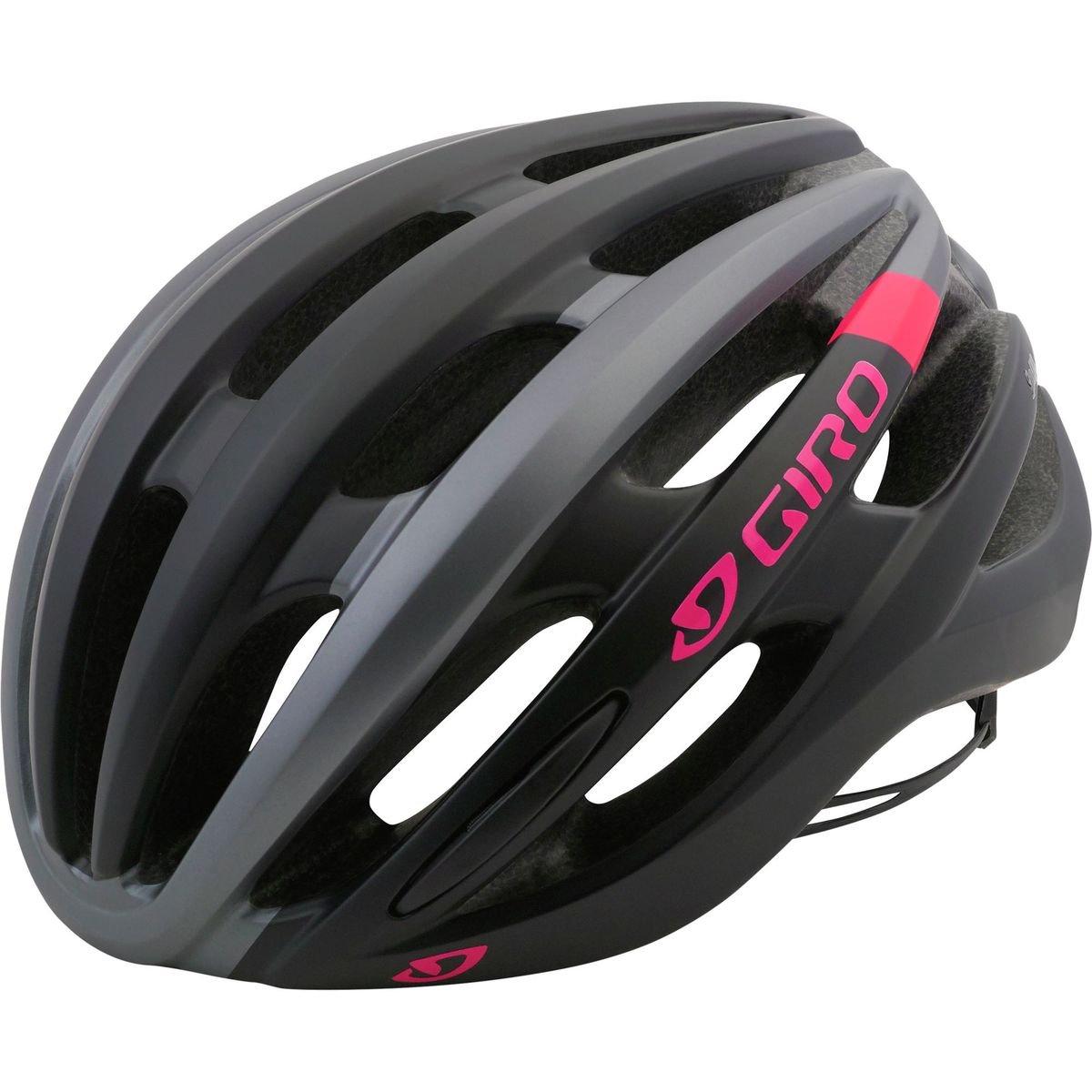 Giro Saga Cycling Helmet - Women's Matte Black/Pink Race Medium