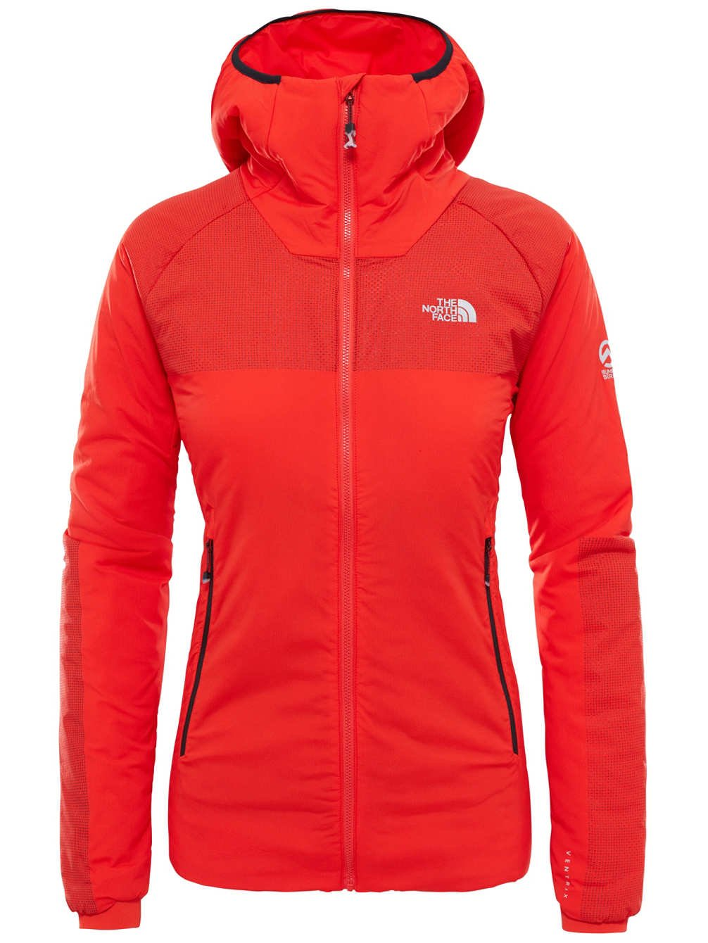 North Face W SUMMIT L3 VENTRIX HOODIE - Sudadera , Mujer , Rojo - (FIERY RED)
