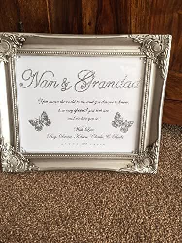 Amazon.com: Personalised frame for your family (Nan