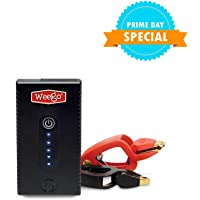 $45 » Weego 22s Jump Starter 1700 Peak 300 Cranking Amps Simple and Safe Lithium Ion  Water…