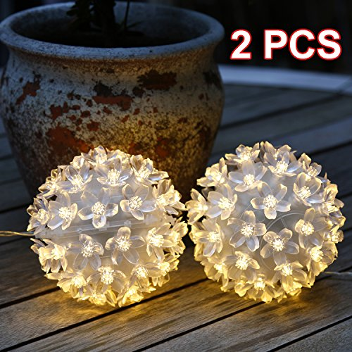 Outdoor Lighted Twig Balls - 4