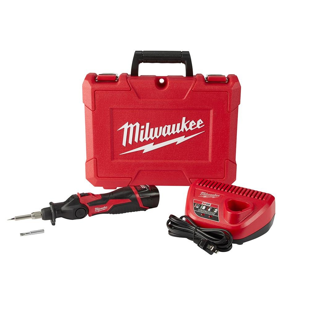 Milwaukee Electric Tools 2488 21 M12 Soldering Iron Kit