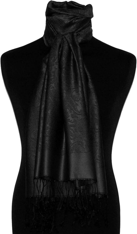 Lorenzo Cana High End Luxus Herren Schal 70/% Seide 30/% Viskose mit Paisley Muster Schaltuch 70 x 190 cm zweifarbig Schal Herrenschal M/ännerschal
