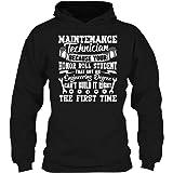 SeeSnow Proud Maintenance Technician Hooded Sweatshirt, Cool Hoodie Design