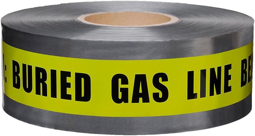National Marker Sign DANGER BURIED GAS LINE SIGN