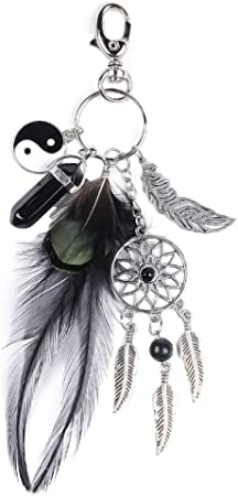 Attrape Reve Porte Cl/és,Porte-cl/és Femme Homme Porte Cl/és Pendentif Charme Fantaisie Mode Cadeau