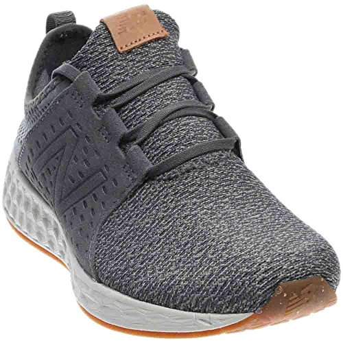 New Balance Mens Fresh Foam Cruz Castlerock/SeavSalt/Gum Rubber Running Shoe - 10 D -