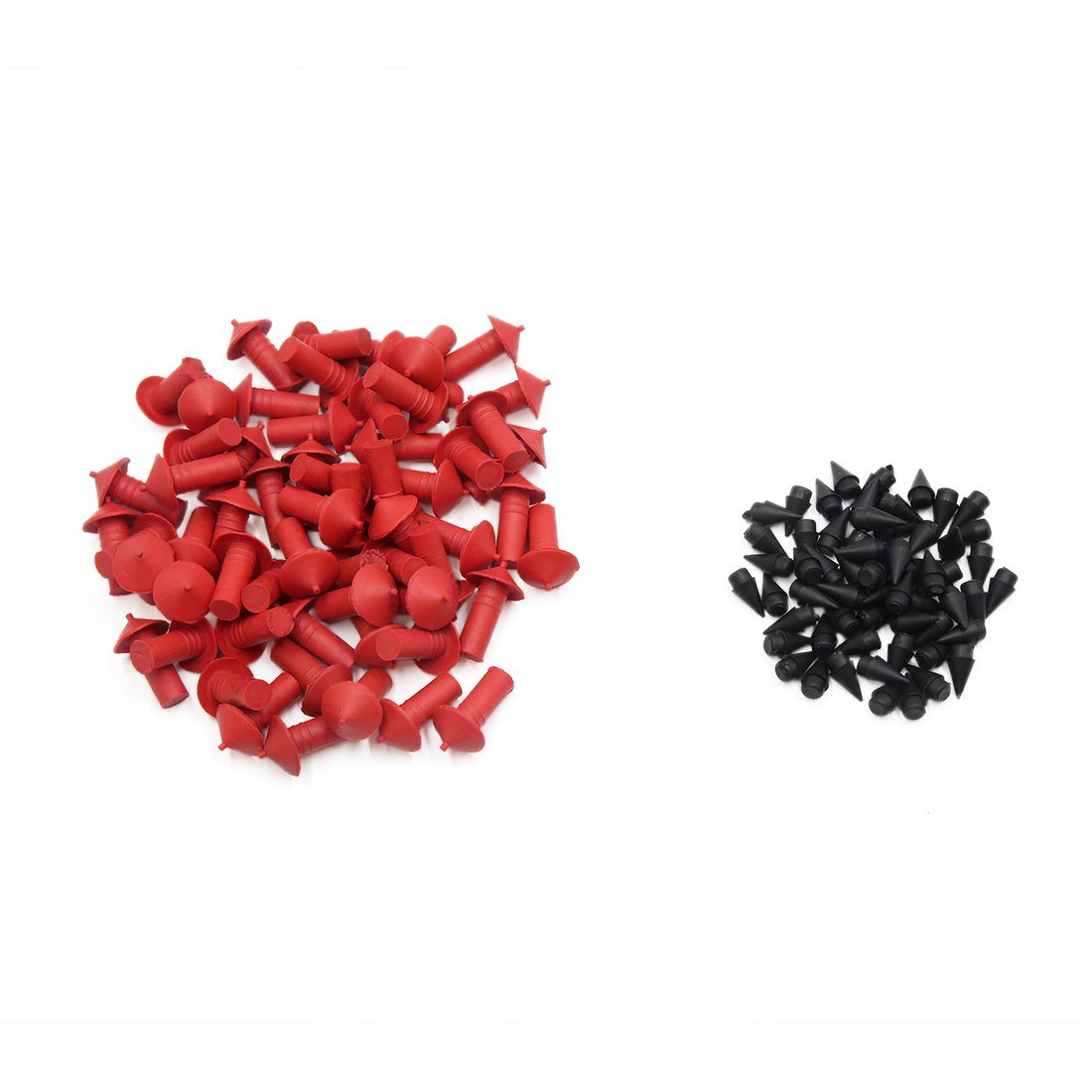 uxcell a17031300ux1135 120 Pcs 7mm Dia Mushroom Style Tubeless Tire Tyre Repair Insert Sockets for Car Pack