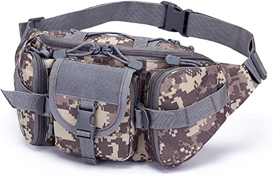 Riñonera Militar Hombre Cinturon Táctico Bolso Cintura