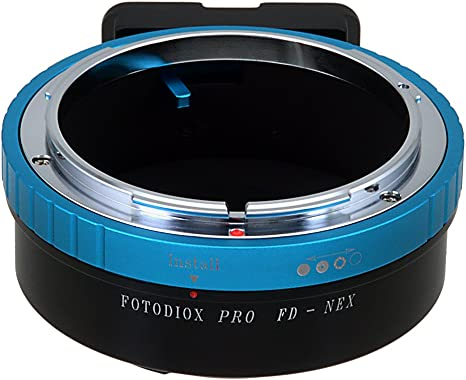 Fotodiox Lens Mount Adapter Compatible with Canon FD and FL Lenses to Sony E-Mount Cameras