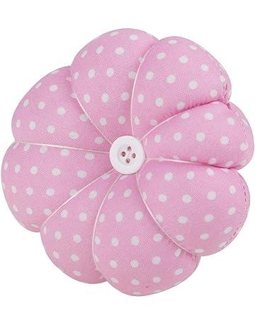 Lindo alfiletero de aguja de coser alfiletero ajustable almohadillas de muñeca de calabaza artesanía herramienta de