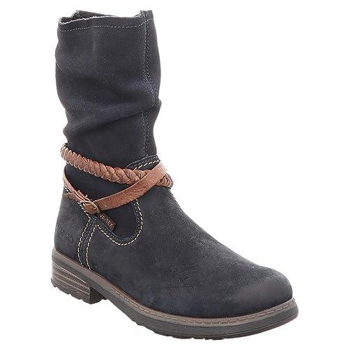c96407100 Vado 86006-116 - Botas de Cuero para niña Azul Azul  Amazon.es  Zapatos y  complementos