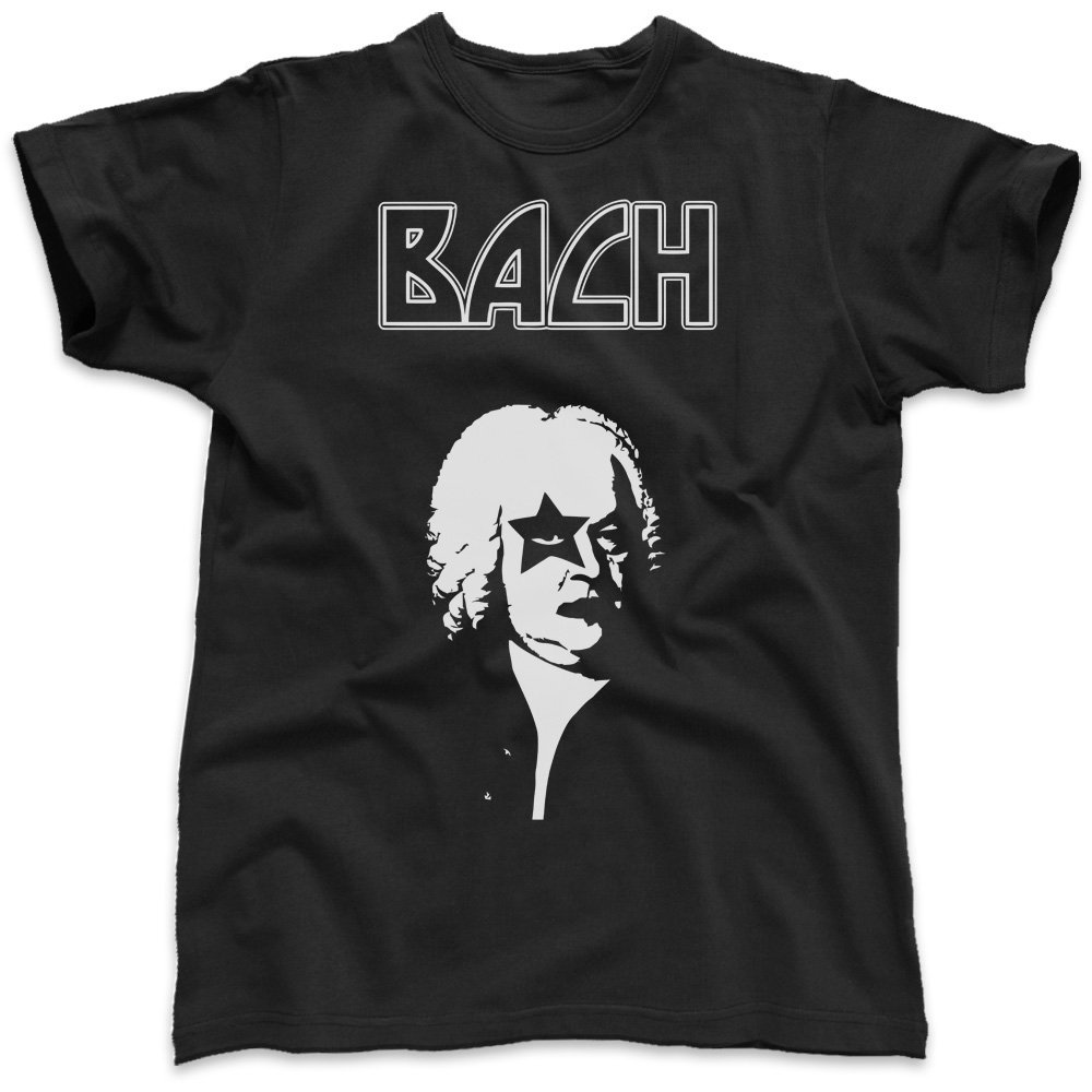 Maquillaje Bach Kiss, T-camiseta de manga corta para hombre: Amazon.es: Ropa y accesorios