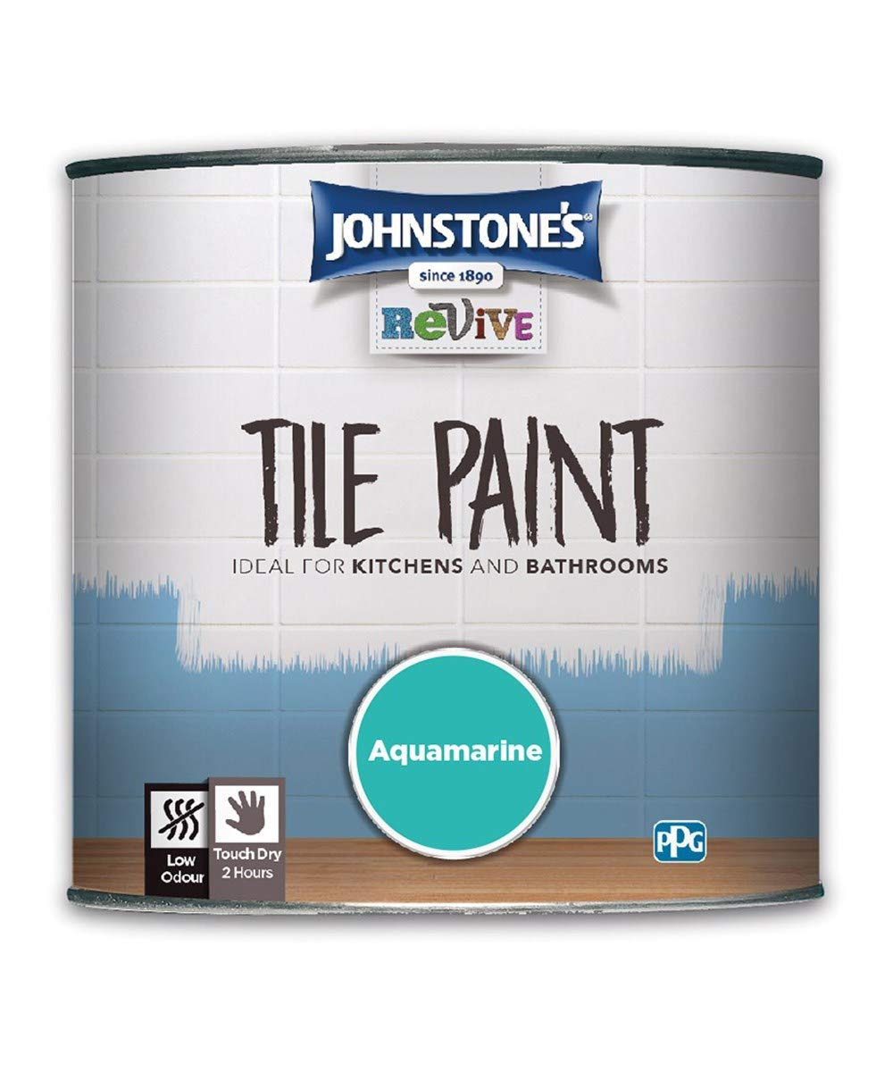750ml Johnstones Revive Tile Paint Aquamarine PPG Architectural Coatings