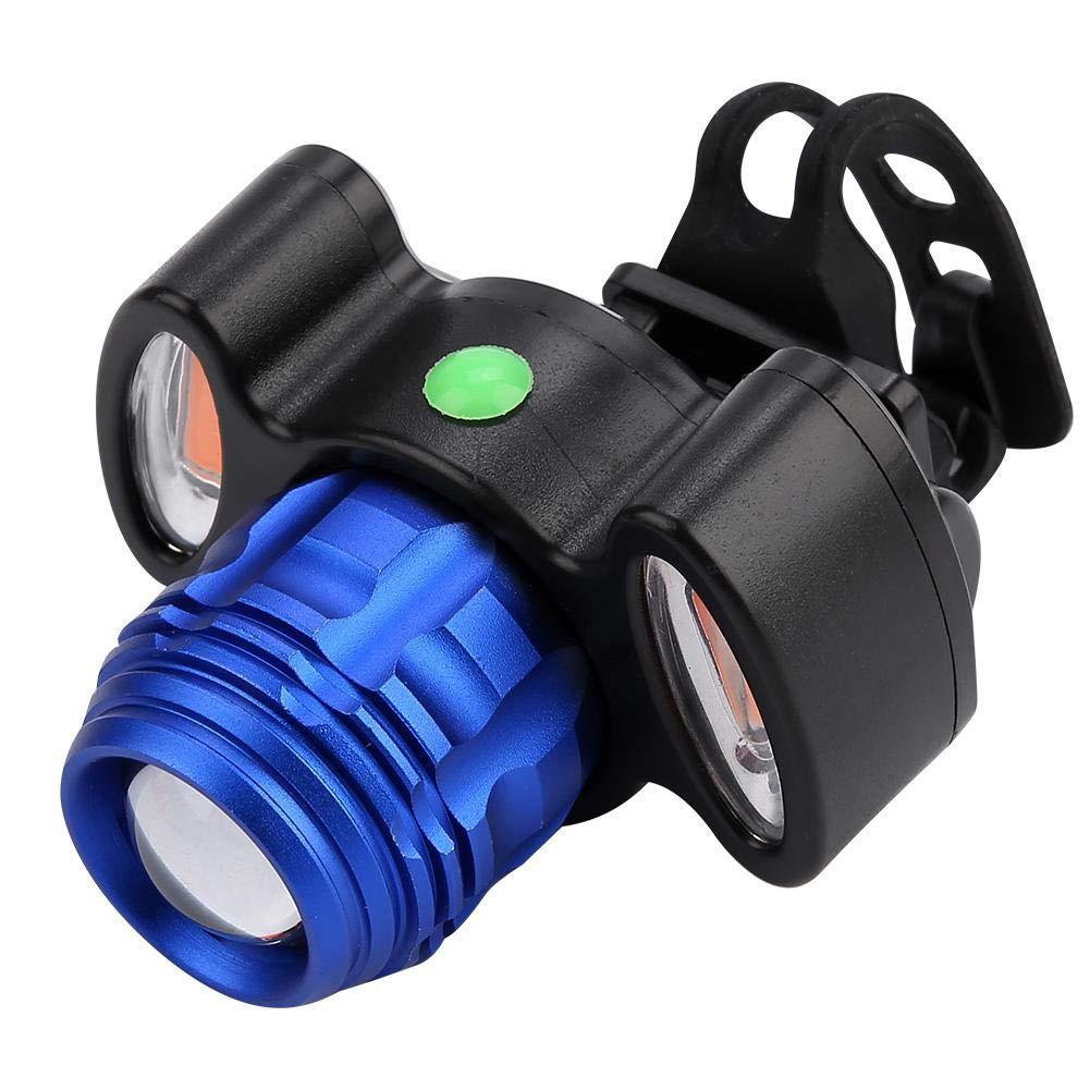 VGEBY Luz Delantera de la Bicicleta luz de Manillar de Bicicleta Impermeable de Ultra Brillo con Carga USB para Montar de Noche
