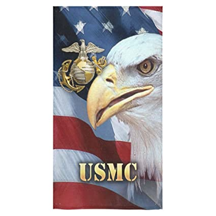 Amazon.com: Christmas/New Year Gifts USMC Towel US Marines,US Marine ...