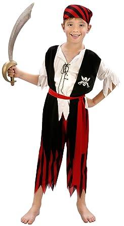 Disfraz de Pirata Niño 7-9 años: Amazon.es: Ropa y accesorios