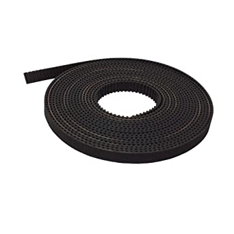 Fevas HTD GT2 Open Ended Transmission Belts 5 Meters Belt Width 9mm 8pcs 2GT Timing Belt Pulley 16 Teeth Bore 5mm Teeth Width 10mm