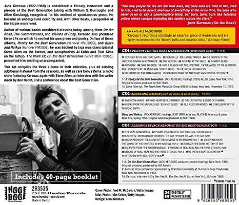 The Beat Generation: Jack Kerouac: Amazon.es: Música