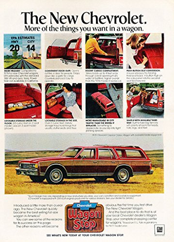 1978 CHEVROLET CAPRICE CLASSIC ESTATE WAGON