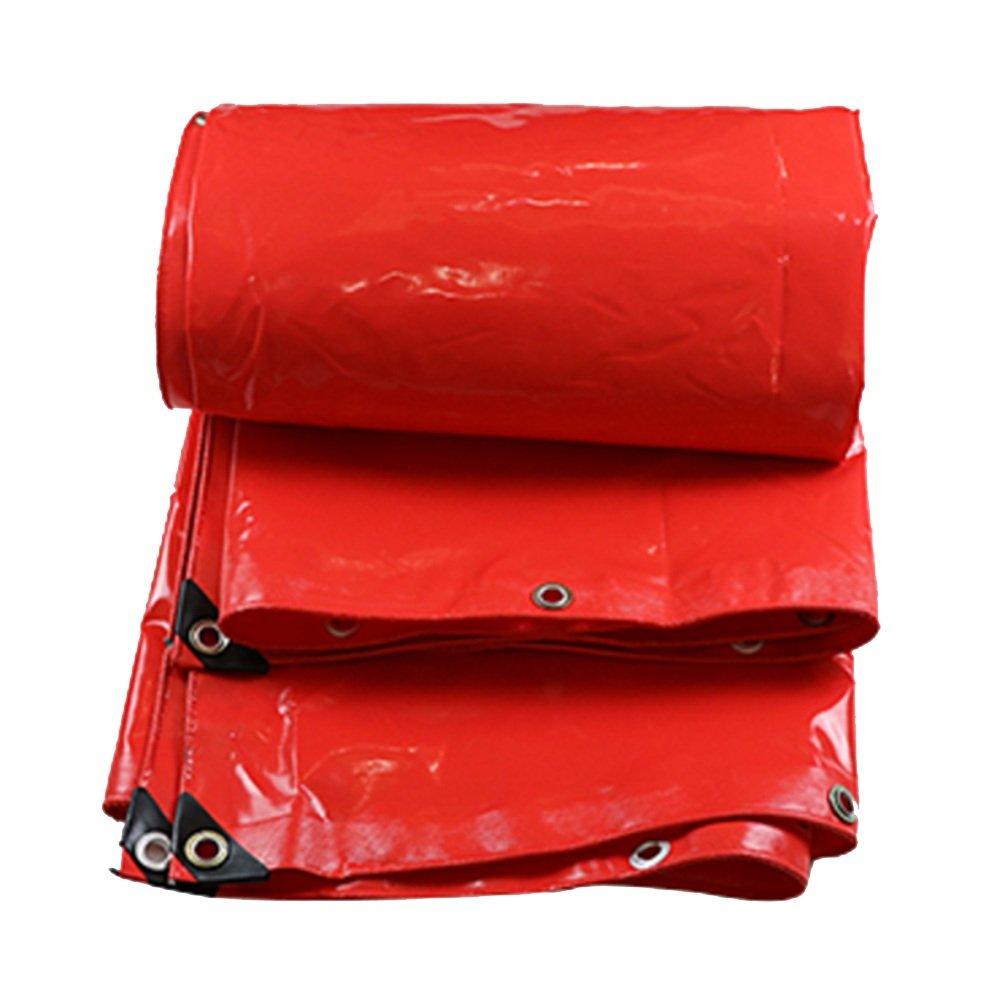 rouge 35m ZfgG Ombre Voiles Sun Prougeection BÂche Grand Camion Anti-Pluie Tissu Toile PVC Imperméable à l'eau Tissu épaississeHommest en Plein Air (Couleur   vert, Taille   2  2m)
