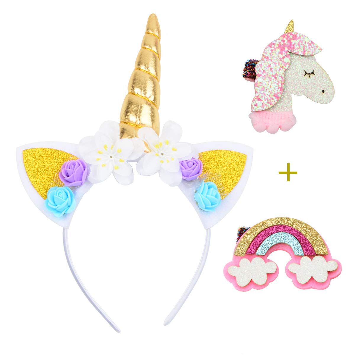 **** BRAND NEW UNICORN HEADBAND HAIRBAND KIDS ADULTS FREE P/&P ****