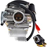 Carburetor /& Air Filter for Taotao ATA110 ATA110B ATA110D ATA110F ATA110L ATA125 ATA125A ATA125D ATA125G ATA125H ATV