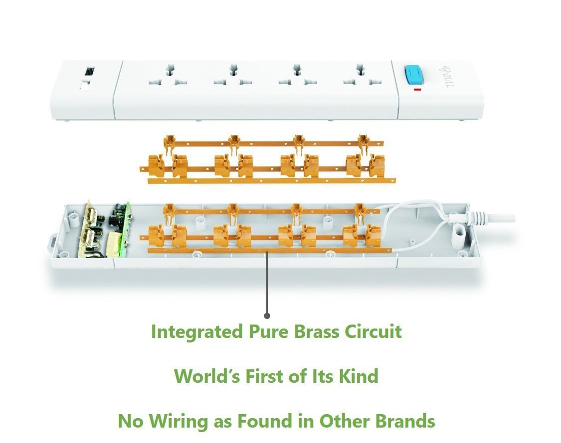 Bull S3040 20 Poly Carbonate Extension Board White Wj Fuse Diagram Home Improvement