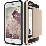 iPhone6s Plus / iPhone6 Plus ケース カード収納 VERUS Damda Slide 背面 カード ケース 耐衝撃 二重構造 衝撃吸収 カバー [ アイフォン 6s プラス / 6 プラス 専用 ] シャインゴールド