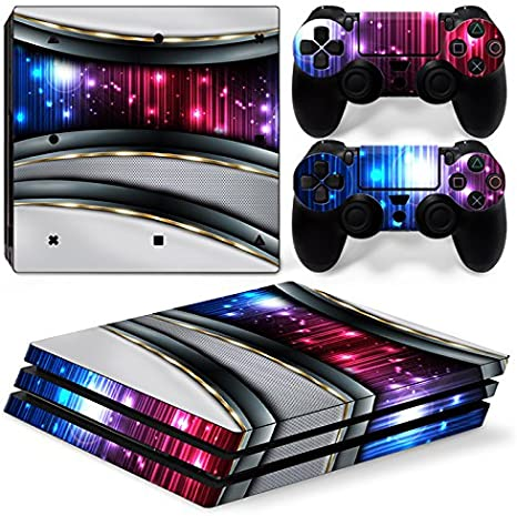 46 North Design Ps4 Pro Playstation 4 Pro Pegatinas De La Consola ...