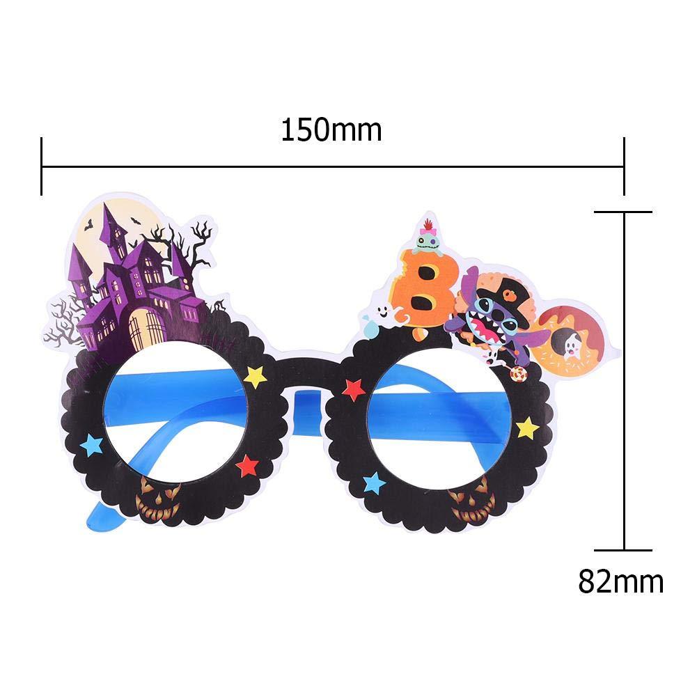 01498b719cd Amazon.com  globeagle 5pcs Children Funny Eyewear Bar Halloween Props  Costume Glasses (Castle)  Home   Kitchen