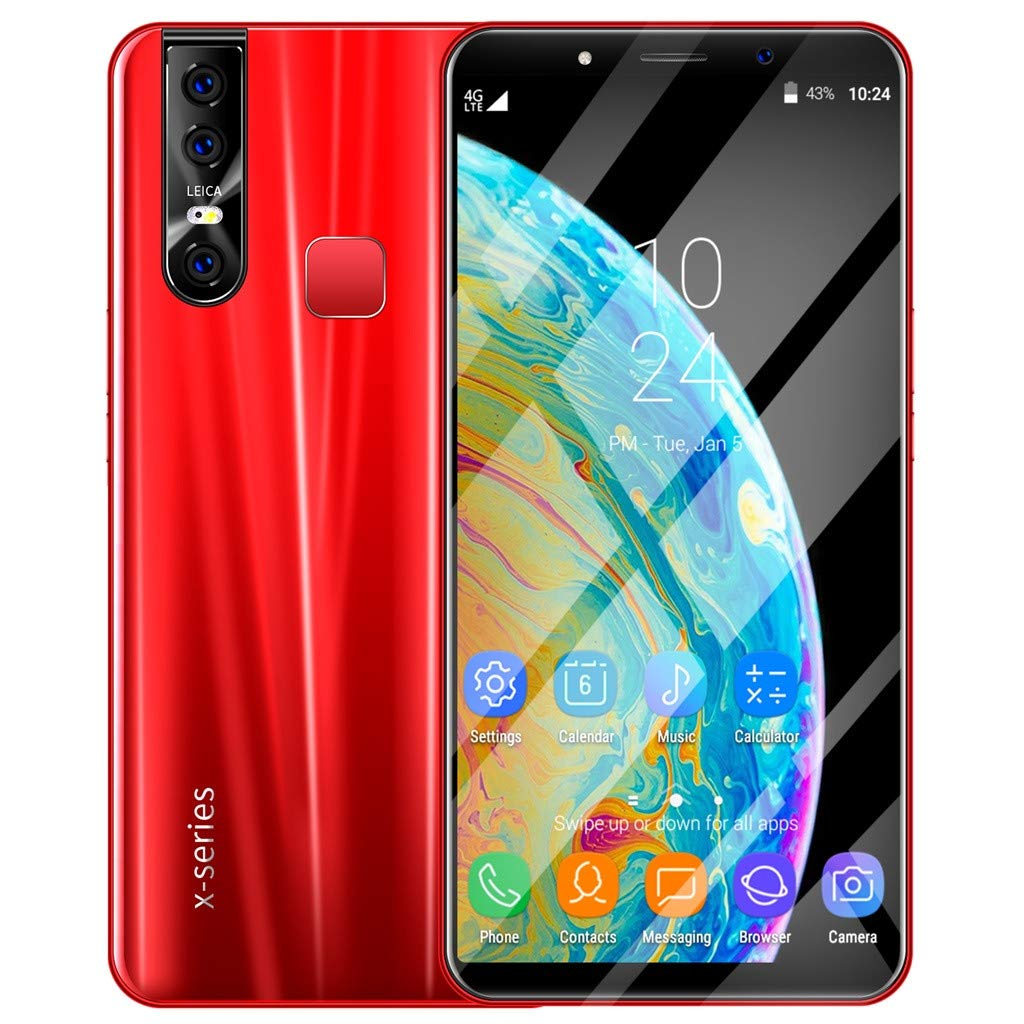 with 3800Mah Lithium-Ion-8Mp 6.3 inch Ultra-Thin Full Screen-Dual Sim Support 2G GSM/&3G Wcdma 1GB RAM+4GB ROM Yuege X27 Plus Unlocked Cell Phones 16Mp Dual Camera-Android 9.1 System