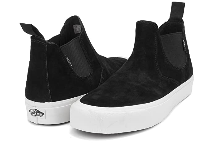 acdf4013f6 Vans Unisex Adults Slip-On Mid DX Scotchgard Fashion Shoes Black Blanc de  Blanc