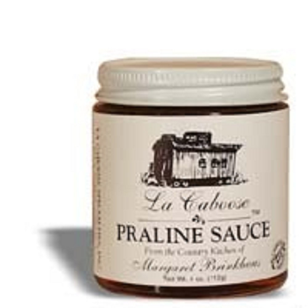 La Caboose Praline Sauce. Ms. Margaret Brinkhaus, From Sunset, Louisiana, Takes Great Pride in Her Home-made Jellies. She Grows Her Own Flowers, Herbs and Fruit to Produce La Caboose Jelly. Each Jelly Is Made One Batch At Time, Hand Stirred and Then Hand