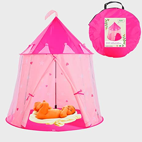 Princess Tent for Girls Indoor u0026 Outdoor Toys Your Baby will Enjoy this Foldable Play  sc 1 st  Amazon.com & Amazon.com: Princess Tent for Girls Indoor u0026 Outdoor Toys Your ...