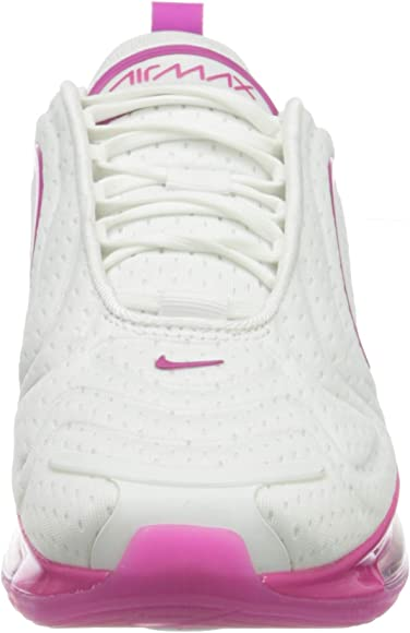 Nike Air MAX 720, Running Shoe Womens, Blanco/Rosa Pasion/Platino Puro, 37.5 EU: Amazon.es: Zapatos y complementos