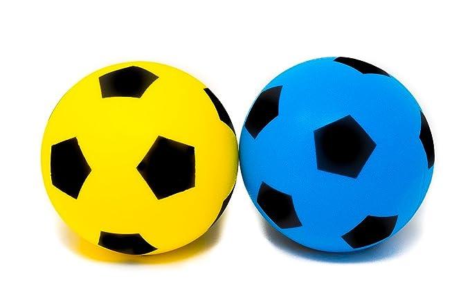 E-Deals - Balón de fútbol de Espuma Suave de 20 cm, 2 de Espuma ...