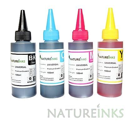 4 botes de tinta de impresora Premium dye recambio para el kit ...