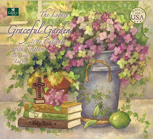 Legacy Publishing Group 2016 Wall Calendar, Graceful Garden (WCA18236)