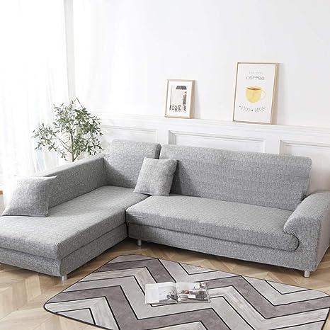 ADGAINAI Fundas De Sofas Chaise Longue L Shape Sofa Covers ...
