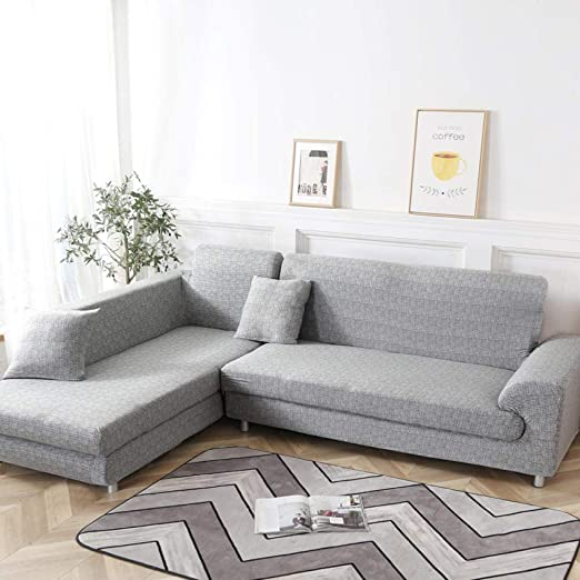 ADGAINAI Fundas De Sofas Chaise Longue L Shape Sofa Covers ...