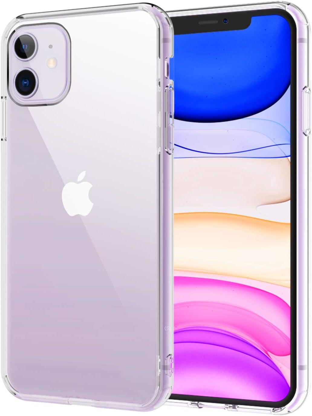 """Syncwire Funda iPhone 11, UltraRock Funda Protectora de iPhone XI con Protección Avanzada contra Caídas y Tecnología de protección de colchón de aire para Apple iPhone 11 6,1"""" (2019), Transparente"""